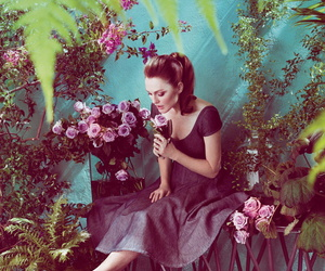 blair and flowers image