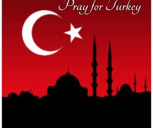 turkey and pray for turkey image