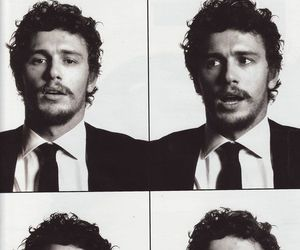 james franco, black and white, and boy image