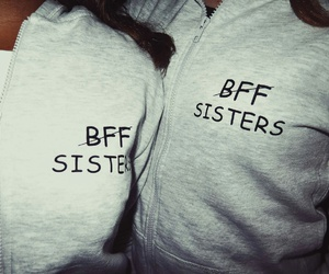 bff, forever, and sisters image
