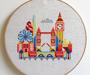 cities, crafts, and embroidery image