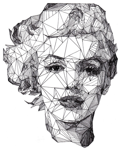 Art black and white marylin monroe picture inspiring picture on favim com
