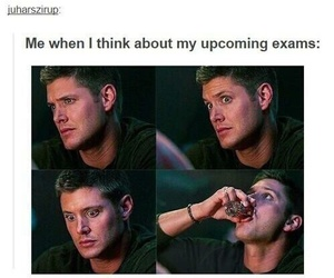 exam, funny, and supernatural image