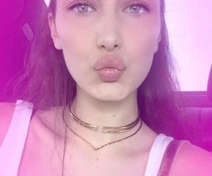 bella, lips, and pink image