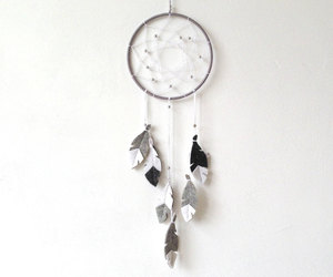 dreamcatcher, etsy, and wall decor image
