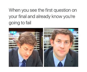 exam, funny, and quote image