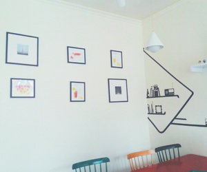 coffee shop and frame image