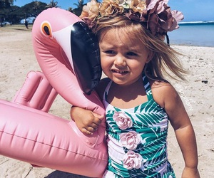 beach, kids, and cute image