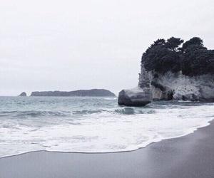 blue, beach, and tumblr image