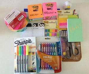 school, school supplies, and back to school image