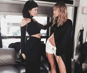 kylie jenner, hailey baldwin, and model image