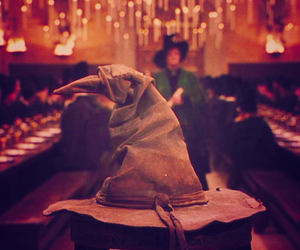 harry potter and sorting hat image