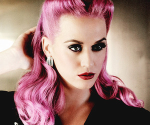 katy perry, beautiful, and hair image