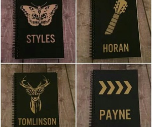 notebook and one direction image