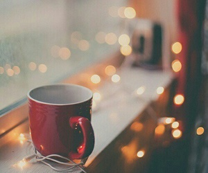 cup, hot chocolate, and winter image