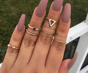 beautiful, jewelry, and long nails image