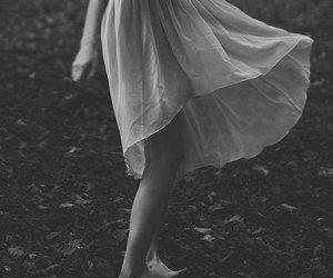 girl, dress, and vintage image