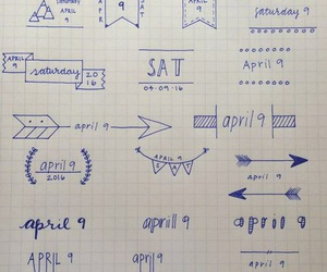 doodles, goals, and planner image