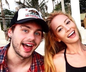 5sos, michael clifford, and bryana holly image