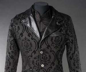 brocade, gothic, and tailcoat image