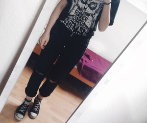 black, bmth, and girl image