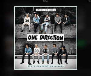 four, steal my girl, and onedirection image