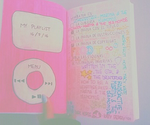 diy, music, and pink image