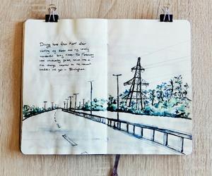 watercolor, art, and journaling image