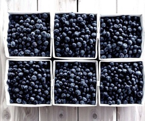 blue, theme, and blueberry image