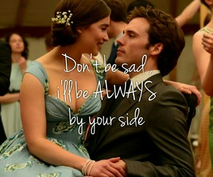 me before you, quote, and love image