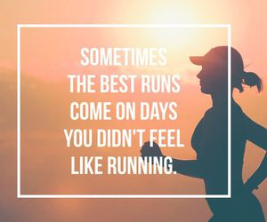 motivation, running, and run image