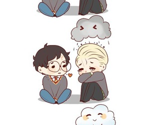 drarry and harry potter image