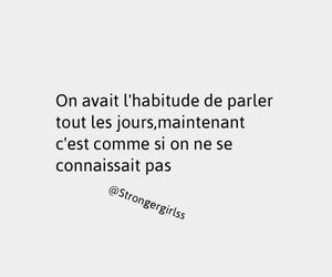 francais, french, and sad image