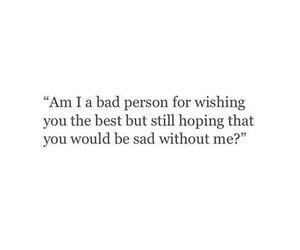 quotes, love, and sad image