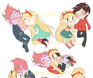 Tom, marco diaz, and starco image