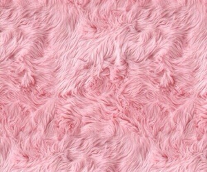 fluffy and pink image