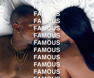 kanye west and famous image