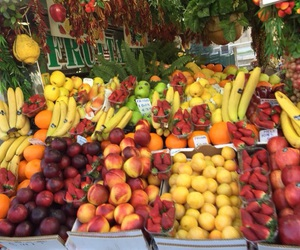 fruit, theme, and tropical image