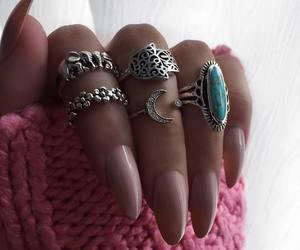 cool, fashion, and nail image