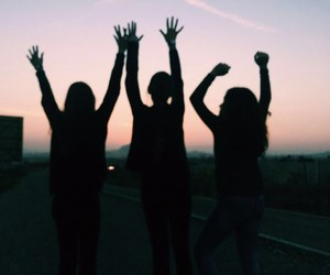 best friend, girls, and life image