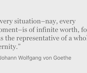 eternity, goethe, and inspiration image
