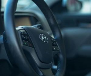 car, drive, and hyundai image