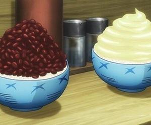 anime, food, and gintama image