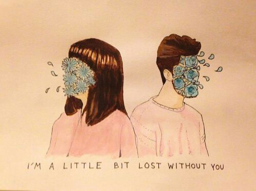 quotes, art, and lost image