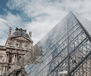 paris and louvre image