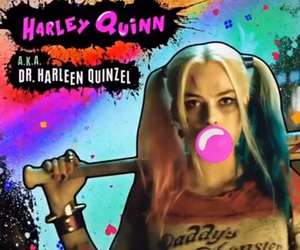 bad girl, harley quinn, and suicide squad image