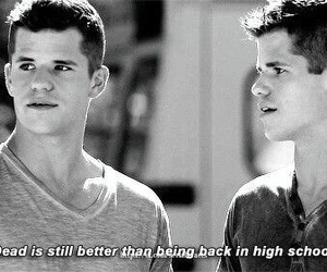teen wolf, high school, and ethan image