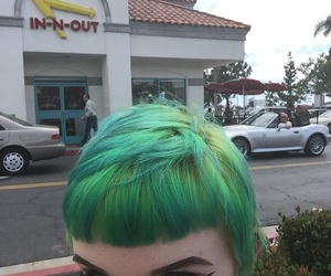 girl, alternative, and green image