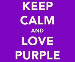 purple and words image