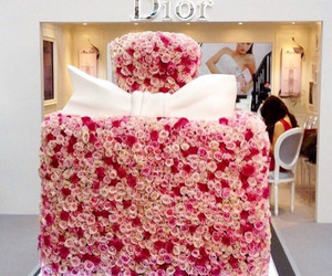 dior and flowers image